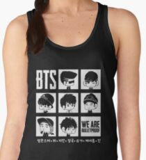 BTS WE ARE BULLETPROOF Chibi Women's Tank Top