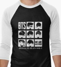 BTS WE ARE BULLETPROOF Chibi Men's Baseball ¾ T-Shirt