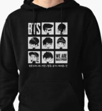 BTS WE ARE BULLETPROOF Chibi Pullover Hoodie