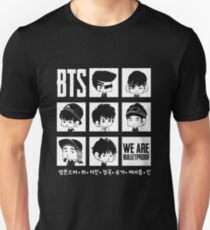 BTS WE ARE BULLETPROOF Chibi Unisex T-Shirt