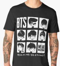 BTS WE ARE BULLETPROOF Chibi Men's Premium T-Shirt