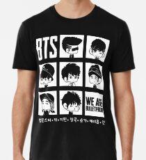 Camiseta premium para hombre BTS SOMOS BULLETPROOF Chibi
