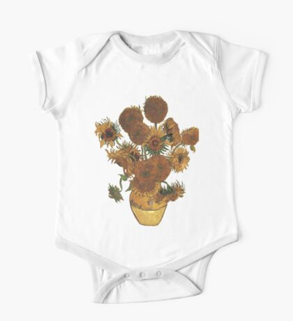 Van Gogh Sun Flowers Grunge Kids Clothes