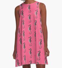 Sea Horse A-Line Dress