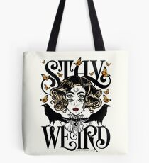 Rose und die Ravens {Bleib Weird} Color Version Tote Bag