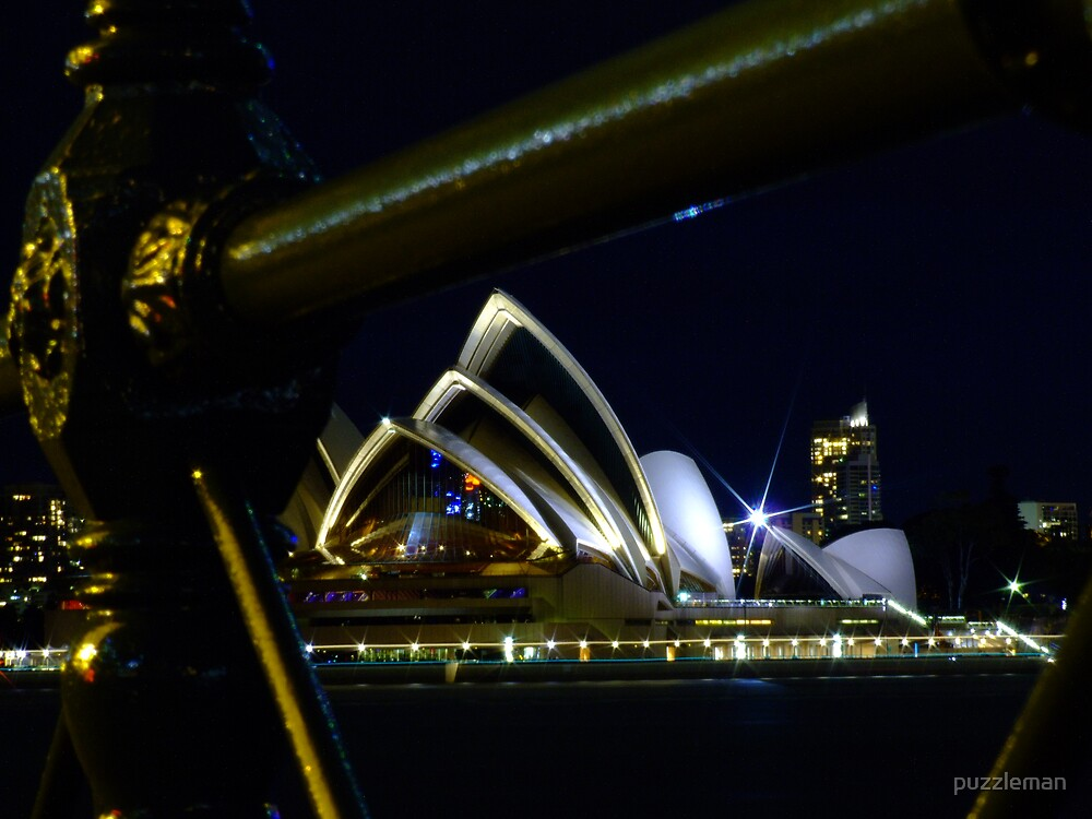 The opera house by puzzleman