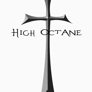 High Octane cross symbol by highoctanewear