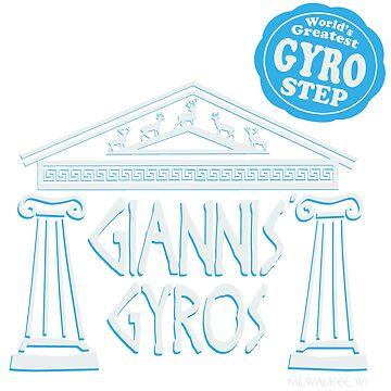 Giannis' Gyros by skywalkin