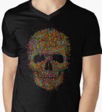 Acid Skull Men's V-Neck T-Shirt