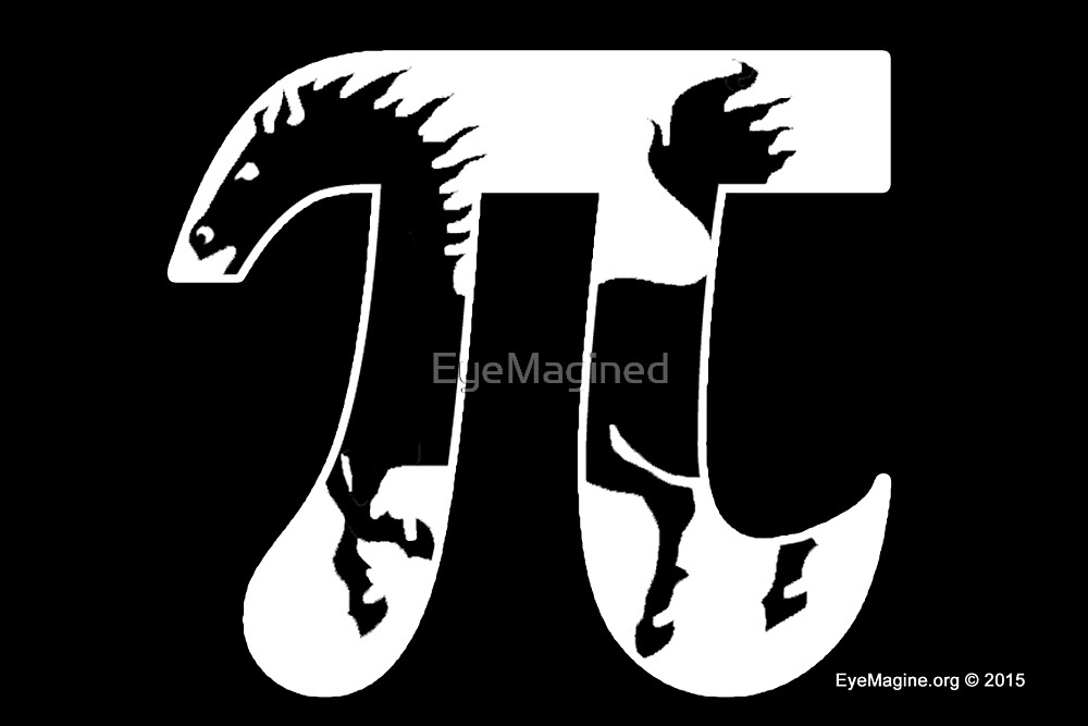 Pi Horse by EyeMagined