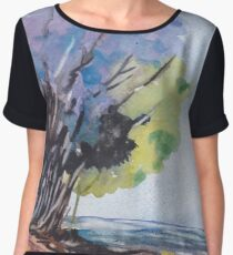 For the Tree-lovers Chiffon Top