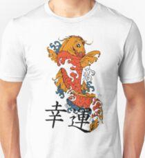 Good Luck Koi Fish Unisex T-Shirt