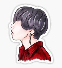 BTS V Taehyung DNA Inspired Sticker/Poster Sticker