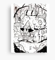 Backpacker Wartortle Canvas Print