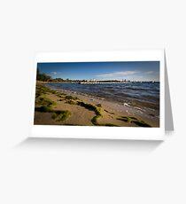 Matilda Bay Beach Greeting Card