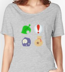 Animal Crossing Icons Women's Relaxed Fit T-Shirt