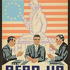 """""""To Speak Up For Democracy, Read Up On Democracy"""" USA, 1930s - 1940s by dru1138"""