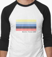 Biarritz - France 1990 Men's Baseball ¾ T-Shirt