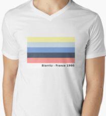 Biarritz - France 1990 Men's V-Neck T-Shirt
