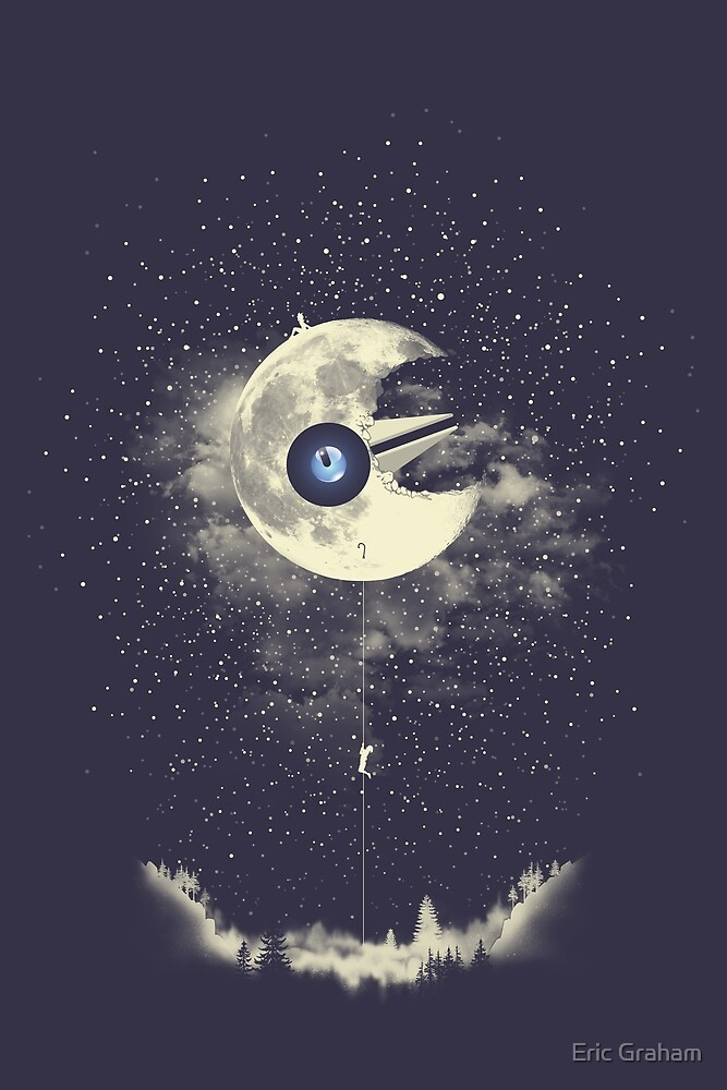By The Light Of The Lunatone By Eric Graham Redbubble