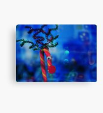 Rudolph The CandyCeindeer? Canvas Print