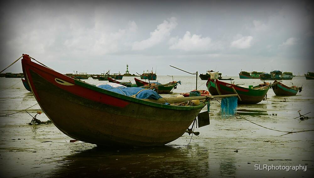 Boats Align by SLRphotography