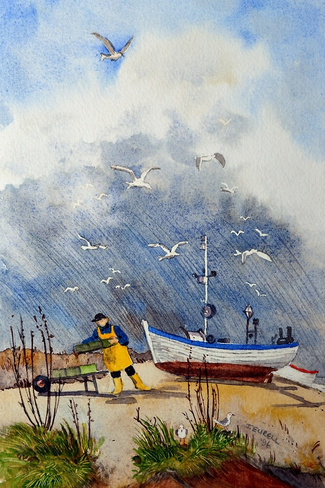 The fisherman by Jennifer Eurell
