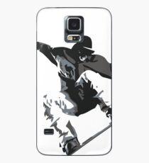 Schnappen Sie sich beim Snowboarden etwas Luft Hülle & Klebefolie für Samsung Galaxy