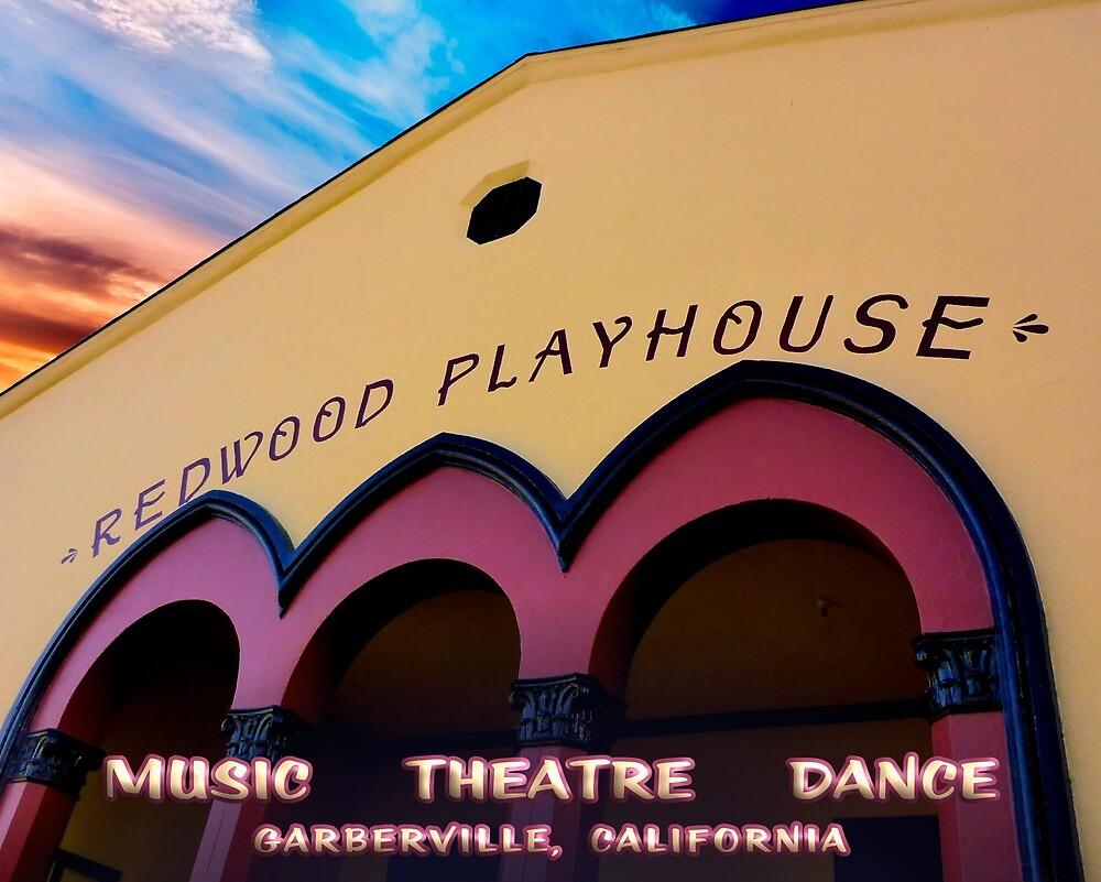 Redwood Playhouse by wakingdog