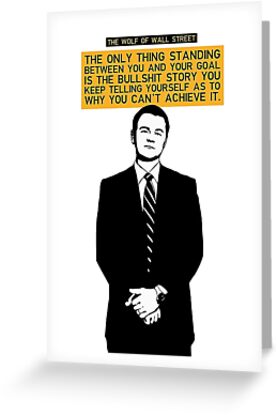 The wolf of wall street greeting cards by doriscannon23 redbubble the wolf of wall street by doriscannon23 m4hsunfo