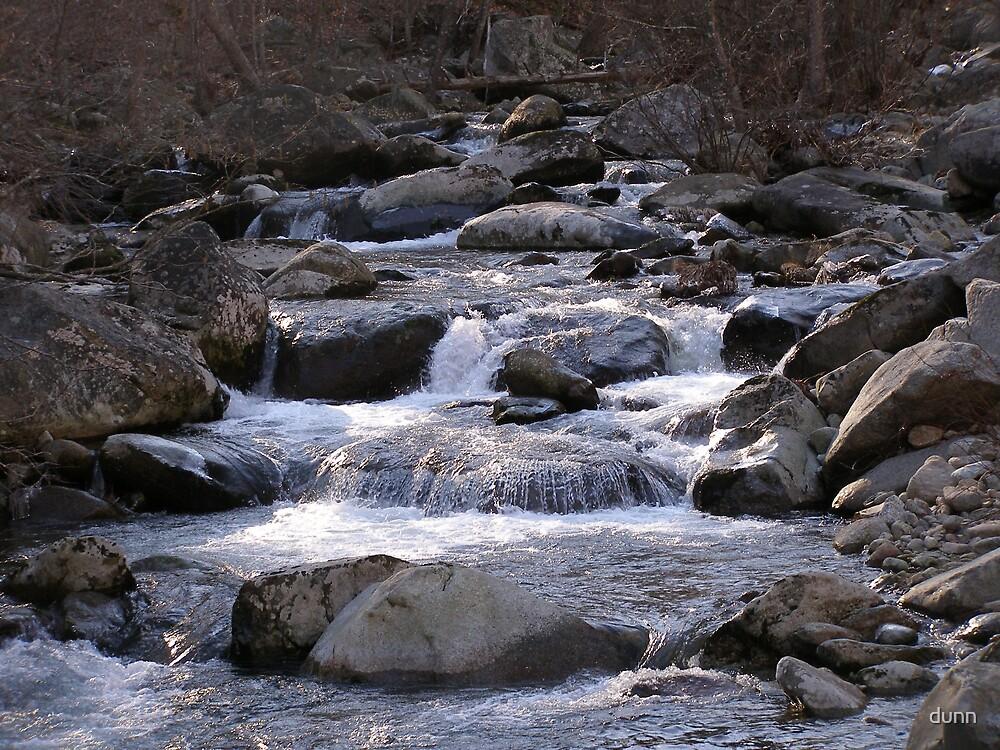 waterfall by dunn