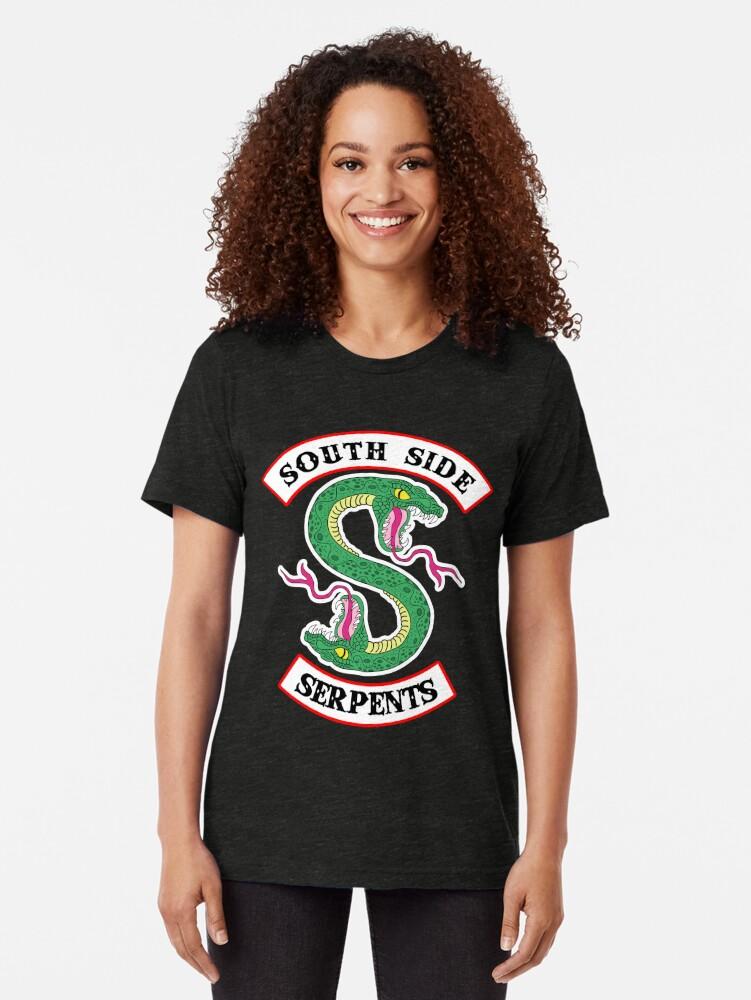 Alternative Ansicht von Southside Schlangen Vintage T-Shirt