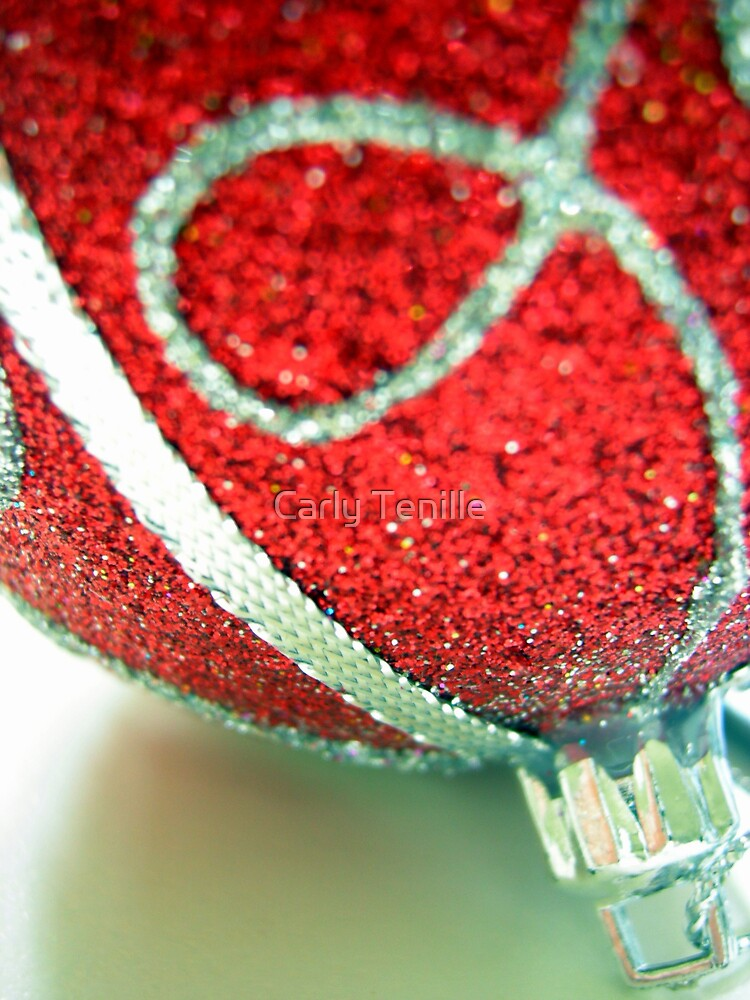 Red Bauble by Carly Tenille