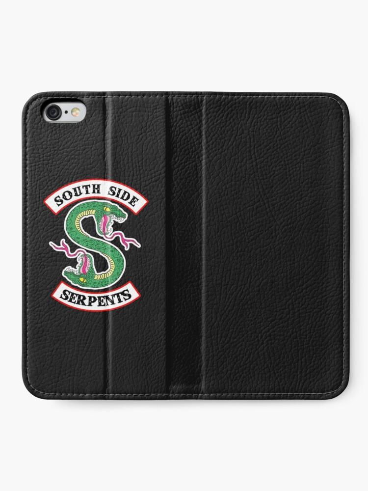 Alternative Ansicht von Southside Schlangen iPhone Flip-Case