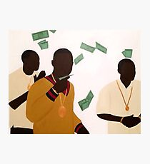 Paid In Full 1 Photographic Print