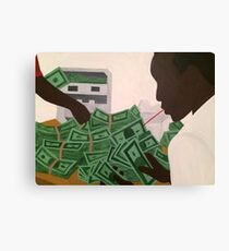 Paid In Full x Ace Canvas Print