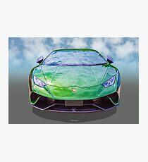 Super Car Green Photographic Print