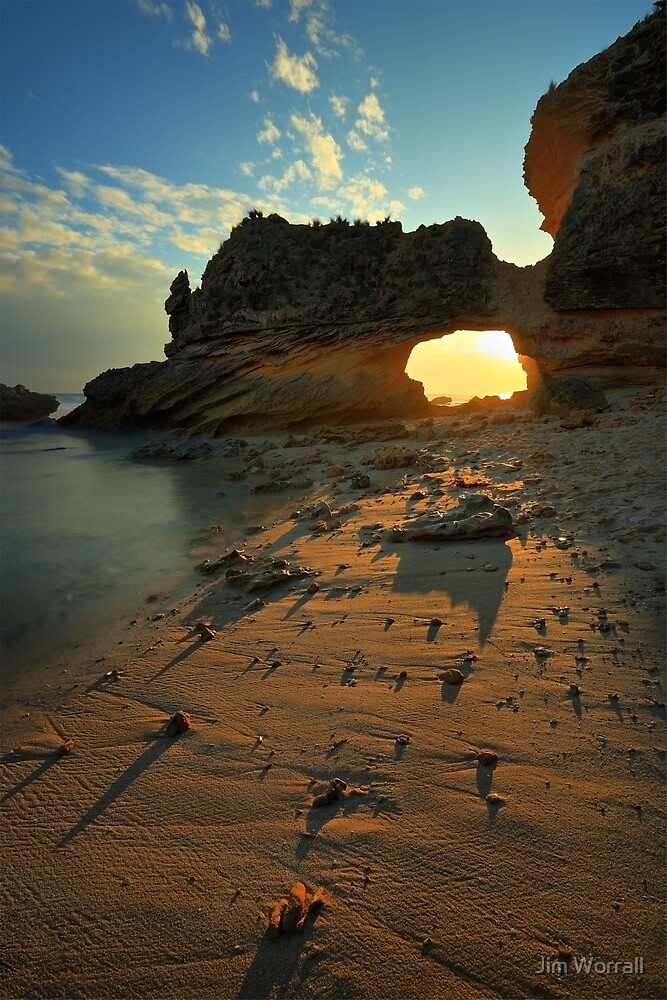 St Pauls beach - Sorrento by Jim Worrall