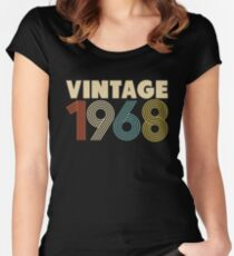 Vintage 1968 Women's Fitted Scoop T-Shirt