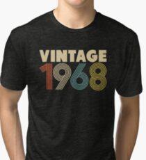 Camiseta de tejido mixto Vintage 1968