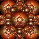 Fractal art - pentagram ball by Sven Fauth