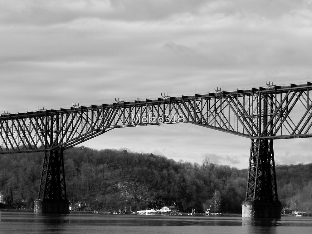 The Old Poughkeepsie Rail Road Bridge by Melzo318