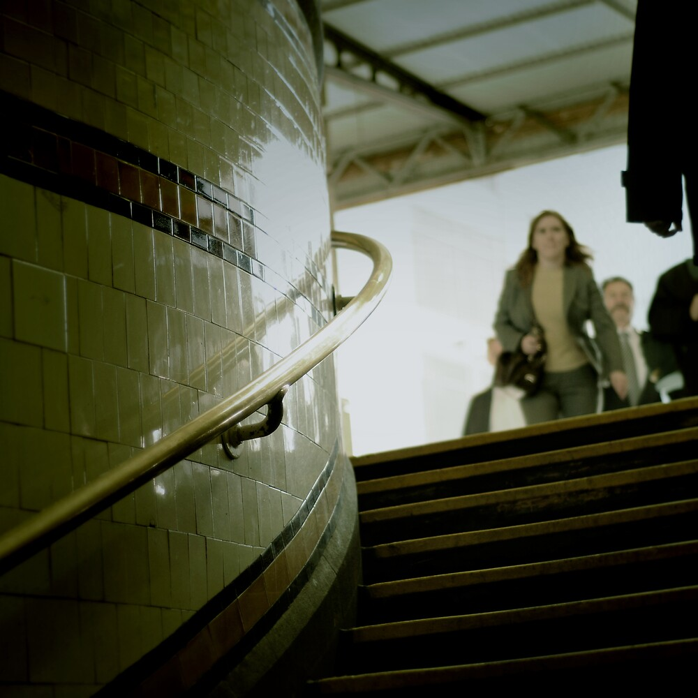 Subway by Michelle Leong