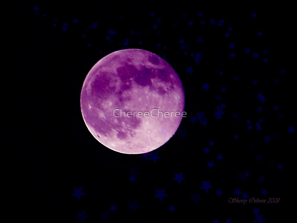 Purple Moon by ChereeCheree
