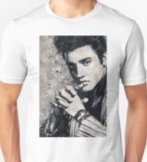 Elvis Presley Geometric Art Unisex T-Shirt