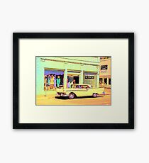 Cali Car Framed Print