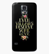 EVEN VILLAINS DESERVE SOME LOVE (GOLD) Case/Skin for Samsung Galaxy