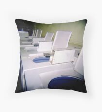 Laundrette Throw Pillow