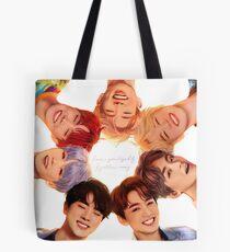 OT7 Love Yourself   Love Myself Tote Bag