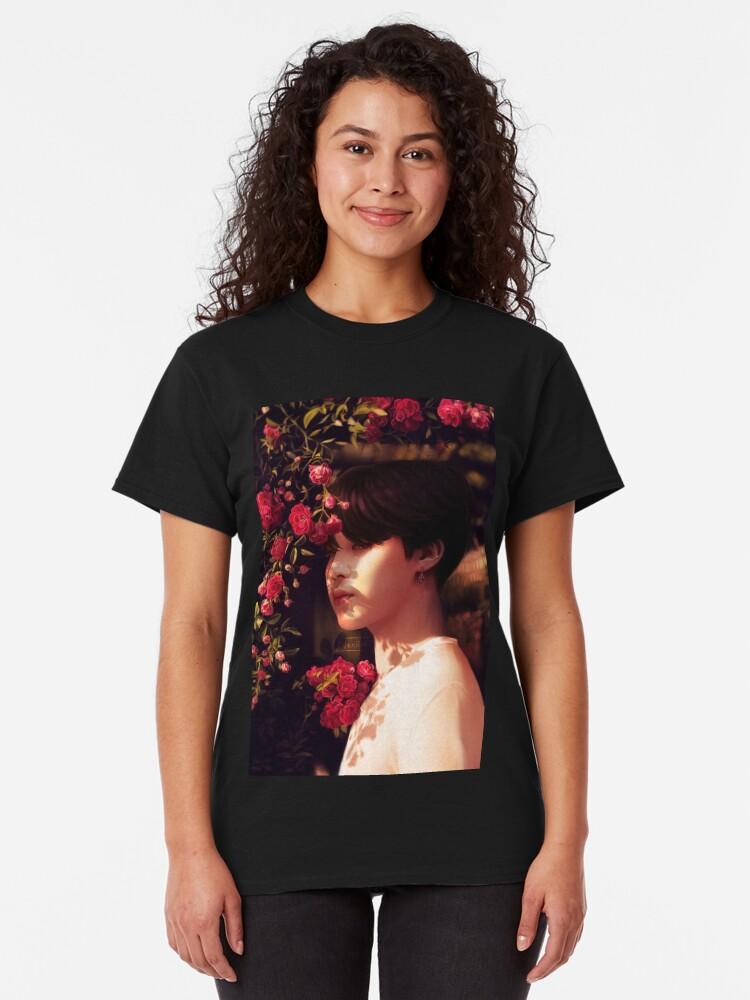 """Alternative Ansicht von """"Als du mich angerufen hast, bin ich deine Blume geworden."""" Classic T-Shirt"""